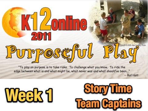 Week 1 Presentation Strands: Storytime and Team Captains