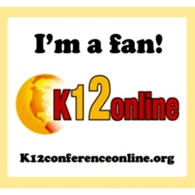 K12 Online Conference Fan Badge